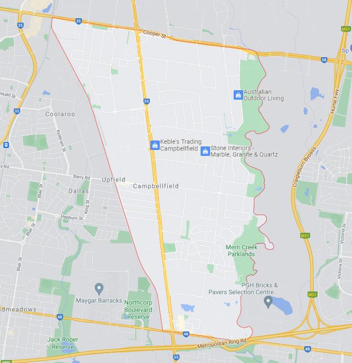 Campbellfield Map Area